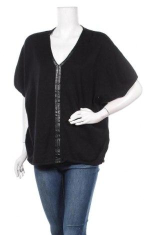 Дамски пуловер Decjuba, Размер S, Цвят Черен, 80% вискоза, 20% кашмир, Цена 22,68лв.