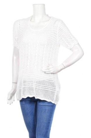 Γυναικείο πουλόβερ Esmara, Μέγεθος M, Χρώμα Λευκό, 50% βαμβάκι, 50% πολυακρυλικό, Τιμή 3,90€