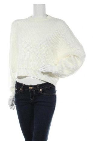 Дамски пуловер Even&Odd, Размер M, Цвят Екрю, Акрил, Цена 25,37лв.