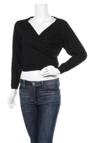Дамски пуловер Even&Odd, Размер S, Цвят Черен, 62% полиестер, 34% полиакрил, 4% еластан, Цена 22,05лв.