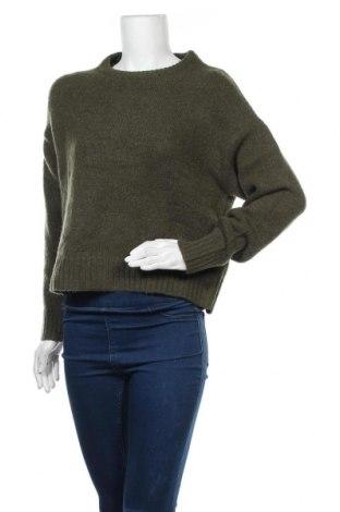 Γυναικείο πουλόβερ Even&Odd, Μέγεθος M, Χρώμα Πράσινο, 76% πολυεστέρας, 14%ακρυλικό, 7% μαλλί, 3% ελαστάνη, Τιμή 20,10€