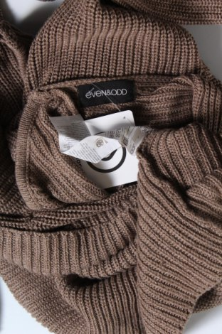 Γυναικείο πουλόβερ Even&Odd, Μέγεθος S, Χρώμα Καφέ, 50% βαμβάκι, 50% πολυακρυλικό, Τιμή 5,93€