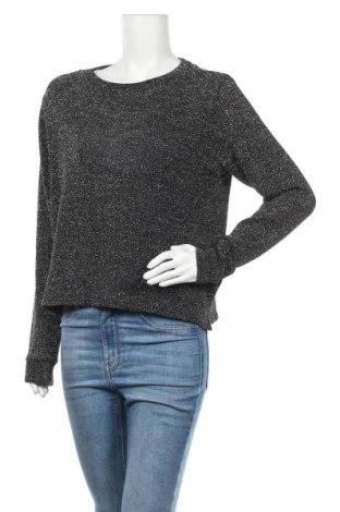 Γυναικείο πουλόβερ H&M Divided, Μέγεθος M, Χρώμα Μαύρο, 93% πολυεστέρας, 5% μεταλλικά νήματα, 2% ελαστάνη, Τιμή 6,37€