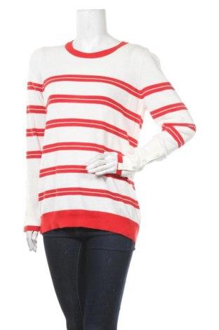 Γυναικείο πουλόβερ Jones New York, Μέγεθος L, Χρώμα Λευκό, Βαμβάκι, Τιμή 67,25€