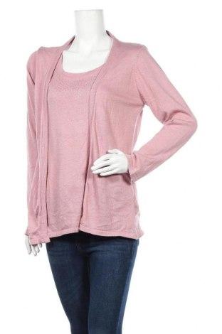 Γυναικείο πουλόβερ Laura Torelli, Μέγεθος L, Χρώμα Ρόζ , 65% πολυεστέρας, 3% 5% βισκόζη, Τιμή 5,91€