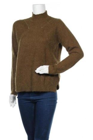 Γυναικείο πουλόβερ Mbym, Μέγεθος XS, Χρώμα Πράσινο, 55%ακρυλικό, 20% πολυαμίδη, 15% βαμβάκι, 10% μαλλί από αλπακά, Τιμή 21,65€
