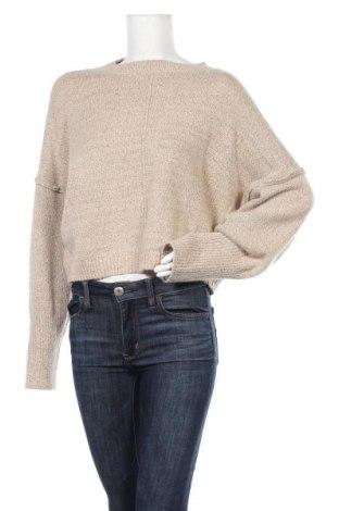 Γυναικείο πουλόβερ Missguided, Μέγεθος S, Χρώμα  Μπέζ, 50%ακρυλικό, 27% πολυεστέρας, 13% πολυαμίδη, Τιμή 17,78€