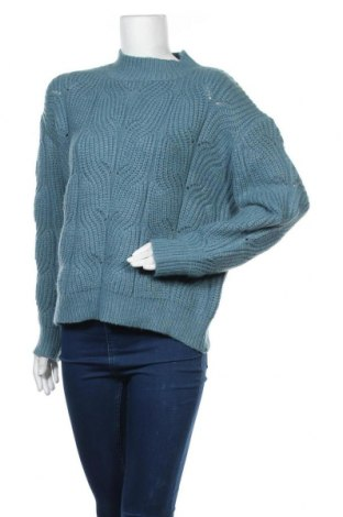 Γυναικείο πουλόβερ Molly Bracken, Μέγεθος M, Χρώμα Μπλέ, 49%ακρυλικό, 26% πολυεστέρας, 22% πολυαμίδη, 3% ελαστάνη, Τιμή 13,68€