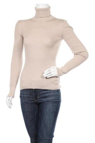 Дамски пуловер Na-Kd, Размер S, Цвят Бежов, 50% памук, 50% акрил, Цена 44,25лв.