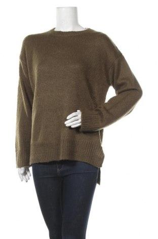 Γυναικείο πουλόβερ New Look, Μέγεθος M, Χρώμα Πράσινο, Ακρυλικό, Τιμή 17,78€