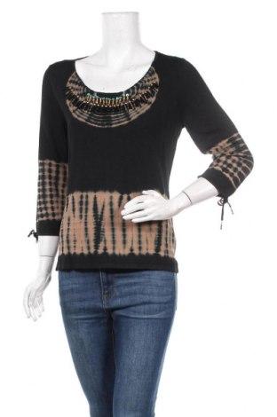 Γυναικείο πουλόβερ Nice Connection, Μέγεθος L, Χρώμα Μαύρο, 65% βισκόζη, 35% πολυαμίδη, Τιμή 10,46€