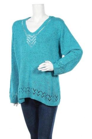 Γυναικείο πουλόβερ Nkd, Μέγεθος XL, Χρώμα Μπλέ, 60%ακρυλικό, 40% πολυαμίδη, Τιμή 14,81€