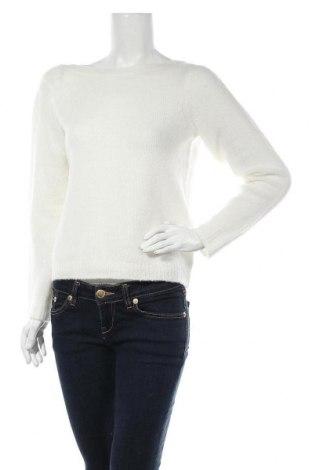 Дамски пуловер Noisy May, Размер S, Цвят Бял, 60% акрил, 28% полиамид, 8% вълна, 4% еластан, Цена 13,57лв.