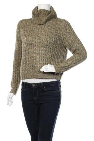 Γυναικείο πουλόβερ ONLY, Μέγεθος XS, Χρώμα Πράσινο, 55%ακρυλικό, 21% πολυεστέρας, 16% πολυαμίδη, 8% μαλλί, Τιμή 21,08€