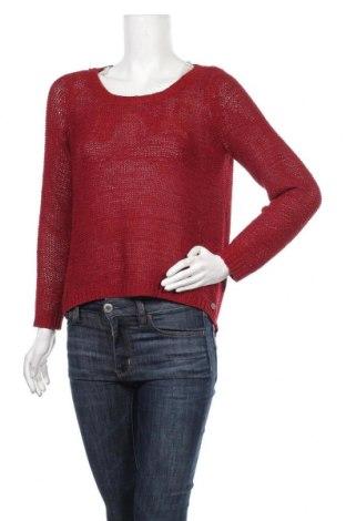 Γυναικείο πουλόβερ ONLY, Μέγεθος M, Χρώμα Κόκκινο, Τιμή 16,66€