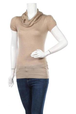 Дамски пуловер One Love, Размер S, Цвят Бежов, 80% акрил, 20% полиамид, Цена 5,31лв.