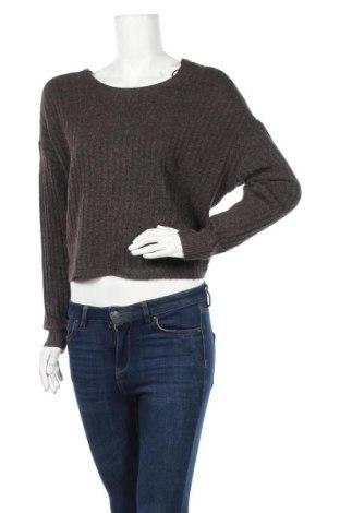 Γυναικείο πουλόβερ Pieces, Μέγεθος S, Χρώμα Καφέ, 80% πολυεστέρας, 10% πολυαμίδη, 7% μαλλί, 3% ελαστάνη, Τιμή 7,60€