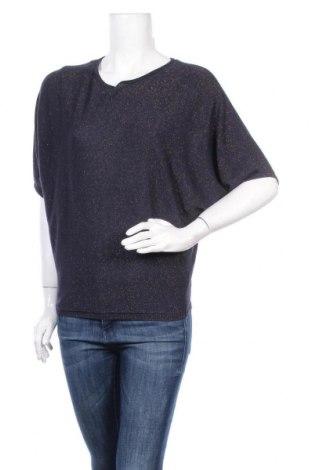 Γυναικείο πουλόβερ Vavite, Μέγεθος S, Χρώμα Μπλέ, 77% βισκόζη, 23% μεταλλικά νήματα, Τιμή 6,14€
