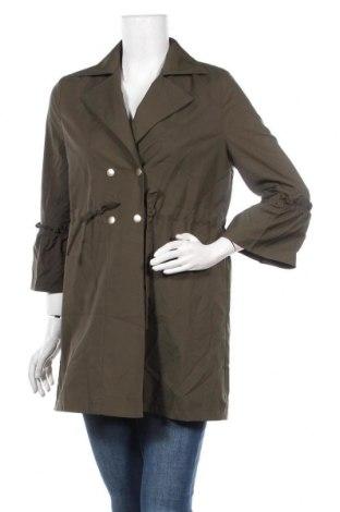 Дамски шлифер, Размер M, Цвят Зелен, Цена 10,76лв.