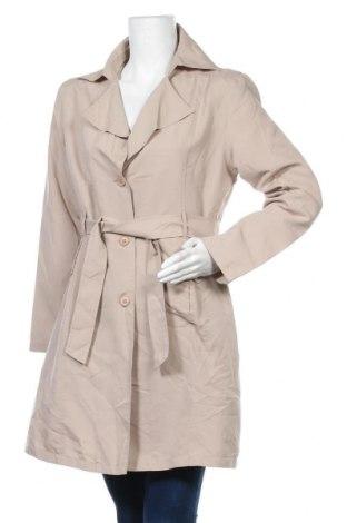Дамски шлифер, Размер XL, Цвят Бежов, Цена 29,35лв.