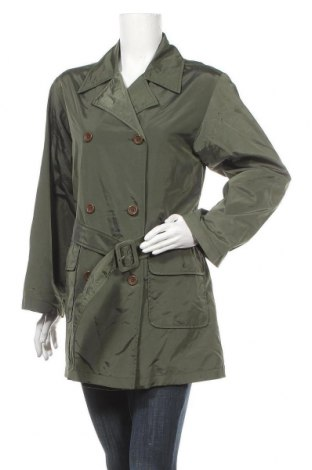 Дамски шлифер, Размер S, Цвят Зелен, 70% полиамид, 30% полиестер, Цена 17,61лв.
