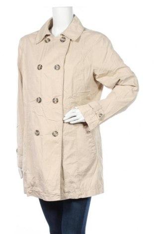 Дамски шлифер, Размер L, Цвят Бежов, Памук, Цена 9,28лв.