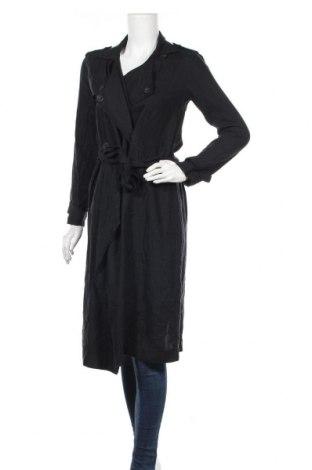 Дамски шлифер Abercrombie & Fitch, Размер XS, Цвят Черен, Лиосел, Цена 18,90лв.
