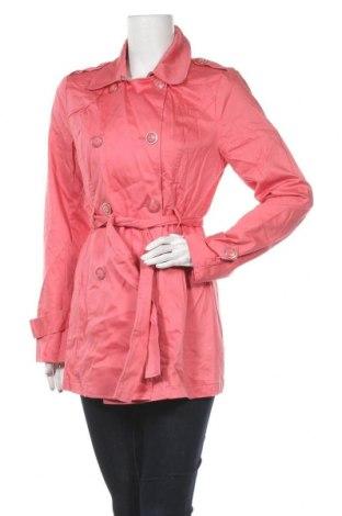 Дамски шлифер Amisu, Размер M, Цвят Розов, 97% памук, 3% еластан, Цена 11,59лв.