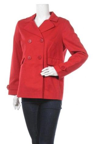 Дамски шлифер Balsamik, Размер M, Цвят Червен, 100% памук, Цена 35,26лв.