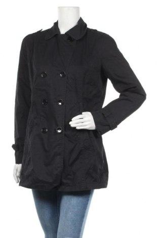 Дамски шлифер Blue Motion, Размер M, Цвят Черен, Памук, Цена 10,33лв.