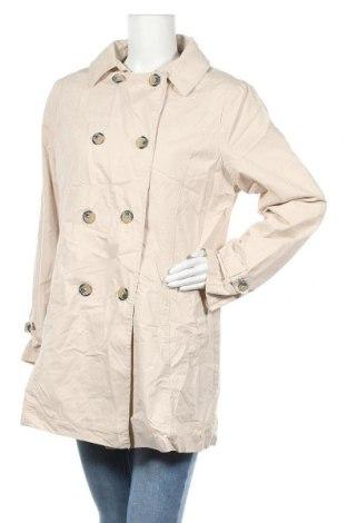 Дамски шлифер Blue Motion, Размер L, Цвят Екрю, Памук, Цена 26,46лв.