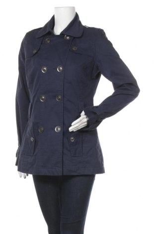 Дамски шлифер C&A, Размер L, Цвят Син, Памук, Цена 30,87лв.