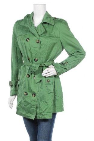 Дамски шлифер Charles Vogele, Размер M, Цвят Зелен, Цена 38,59лв.