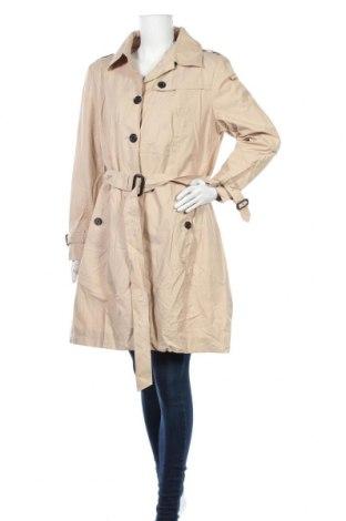 Дамски шлифер Fuchs & Schmitt, Размер XL, Цвят Бежов, 63% памук, 37% полиамид, Цена 38,22лв.