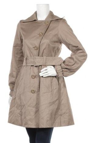 Дамски шлифер H&M, Размер S, Цвят Кафяв, Памук, Цена 26,62лв.