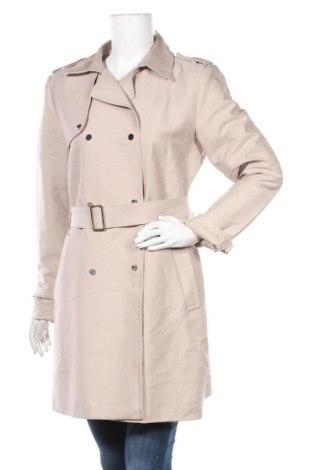 Дамски шлифер Hallhuber, Размер L, Цвят Бежов, 50% полиестер, 45% памук, 5% полиамид, Цена 55,97лв.