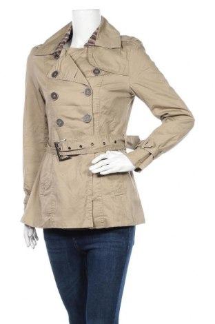Дамски шлифер Manguun, Размер M, Цвят Бежов, Памук, Цена 9,66лв.