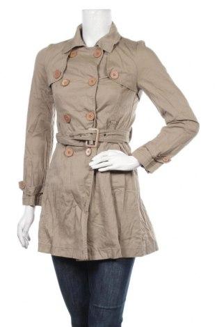 Дамски шлифер Mystic, Размер S, Цвят Кафяв, 97% памук, 3% еластан, Цена 21,95лв.