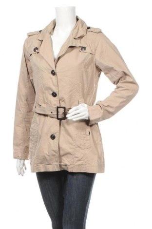 Дамски шлифер Odyssee, Размер M, Цвят Бежов, 73% памук, 27% полиамид, Цена 8,93лв.