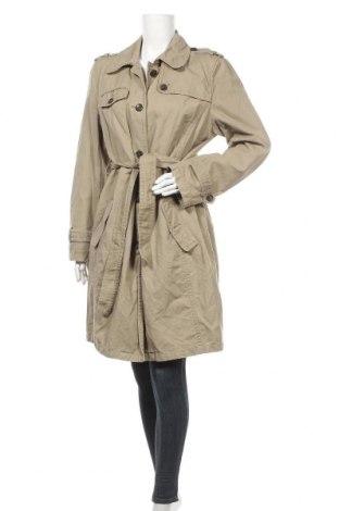 Дамски шлифер Peckott, Размер XL, Цвят Бежов, 63% памук, 37% лен, Цена 41,90лв.