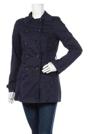 Дамски шлифер Pimkie, Размер S, Цвят Син, 65% полиестер, 35% памук, Цена 15,44лв.