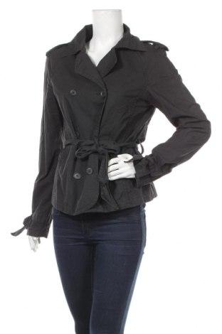 Дамски шлифер Sisley, Размер L, Цвят Черен, 64% памук, 36% полиамид, Цена 30,87лв.