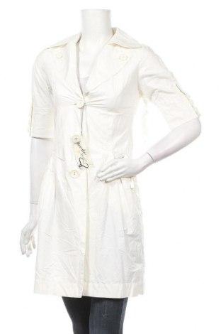 Дамски шлифер Specchio Woman, Размер XS, Цвят Бял, 65% полиестер, 35% памук, Цена 11,11лв.