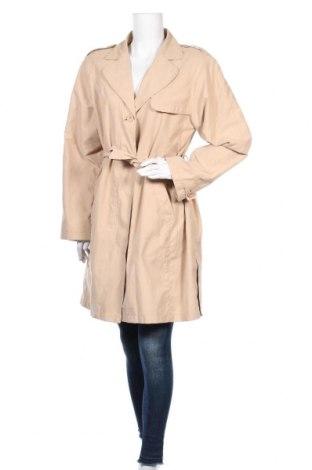 Дамски шлифер TCM, Размер M, Цвят Бежов, 80% полиестер, 20% полиамид, Цена 10,14лв.