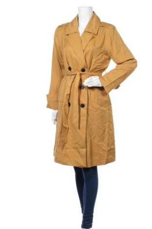 Дамски шлифер Tom Tailor, Размер S, Цвят Жълт, Лиосел, Цена 76,32лв.