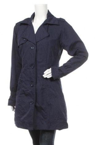 Дамски шлифер Vero Moda, Размер L, Цвят Син, 100% полиестер, Цена 19,32лв.