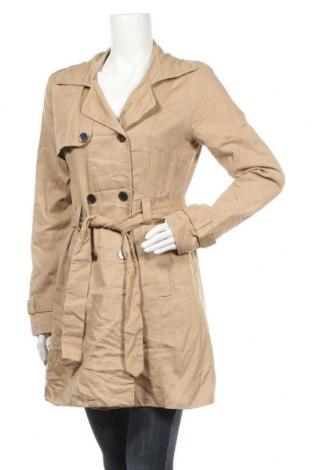 Дамски шлифер Vero Moda, Размер L, Цвят Бежов, Цена 21,26лв.