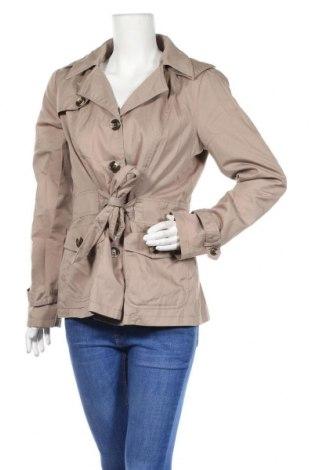Дамски шлифер Vero Moda, Размер L, Цвят Кафяв, 65% полиестер, 35% памук, Цена 10,24лв.