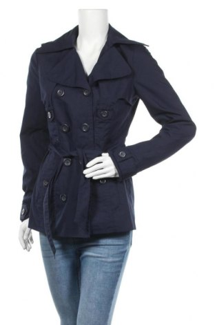 Дамски шлифер Vero Moda, Размер S, Цвят Син, 65% полиестер, 35% памук, Цена 11,03лв.
