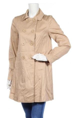 Дамски шлифер Warehouse, Размер M, Цвят Бежов, 98% памук, 2% еластан, Цена 11,55лв.